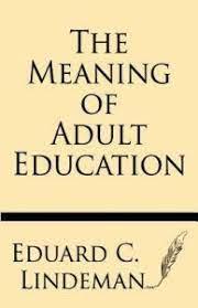Eduard Lindman e a Formação de Adultos